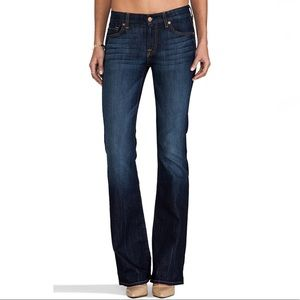 7 For All Mankind Kimmie Bootcut Midnight Jeans